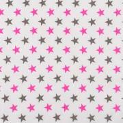 Dětské povlečení 2 dílné RŮŽOVÁ HVĚZDA 135 x 100 cm