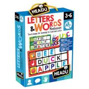 Montessori - Bingo - Písmena a slova