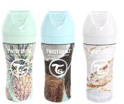 Kojenecká láhev Anti-Colic nerezová Twistshake 330 ml
