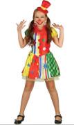 Šaty na karneval - klaun , 120-130 cm