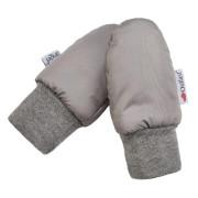 Rukavice bez palce šusťák Outlast® - Stříbrná