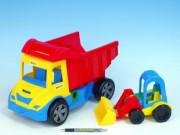 Auto multitruck s nakladačem 38 cm Wader 12 m+