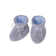 Kojenecké botičky Minky Teddy modrá