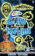 Tetování svítící ve tmě chlapecké