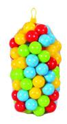 Plastové míčky 7 cm - 100 ks