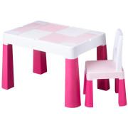 Dětská sada stoleček a židlička Multifun pink