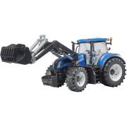 Bburago New Holland T3.315 traktor nakladač 15cm na setrvačník