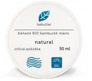 Bebutter Šlehané BIO bambucké máslo natural 50ml DATUM EXPIRACE 3/2021