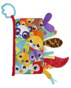 Textilní knížka se zvířecími ocásky Playgro