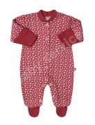 Bavlněná kombinéza s rukavičkami Obláčky Baby Service