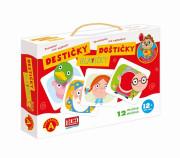 Poznávání pro nejmenší - Destičky Hlavičky naučná hra