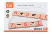Dřevěná magnetická čísla Viga