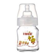 Kojenecká láhev skleněná se širokým hrdlem 120 ml Farlin