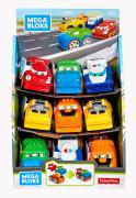 Mega Bloks závodní auta
