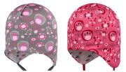 Funkční kojenecká zavazovací čepice Bodláky Picowinter RDX
