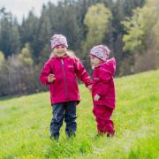 Dětská softshellová bunda letní Mono Fuchsie Esito