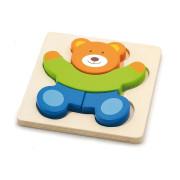 Puzzle pro nejmenší - medvídek Viga