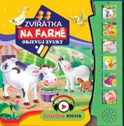 Zvuková knížka Zvířátka na farmě - Objevuj zvuky CZ