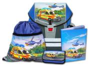 Školní aktovkový set ERGO ONE Záchranáři 4-dílný