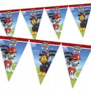 Vlaječková girlanda - Tlapková Patrola (9 vlajek)