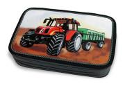 Školní pouzdro 3-patra plněné Traktor Emipo