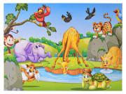 "Puzzle ""Život v džungli"" 62x46 cm 35 ks"