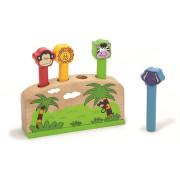 Dřevěná hra - zvířátka Viga