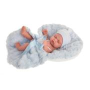LUNI 4073 - Spící realistické miminko 26 cm