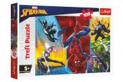 Puzzle Spiderman Marvel - Vzhůru nohama 100 dílků