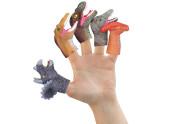 Dinosauři na prsty 5 ks