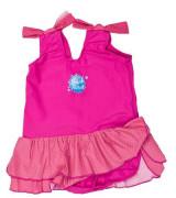 Jednodílné plavky Růžový puntík se sukýnkou Vel. 1-2 roky