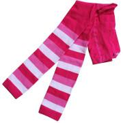 Dětské legíny Design Socks RŮŽOVÉ PROUŽKOVANÉ