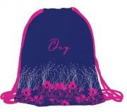 Sáček na cvičky OXY Pink Flowers