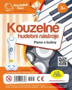 Albi Kouzelné čtení - Kouzelné hudební nástroje Piano a bubny