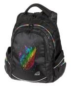 Studentský batoh FAME Unicorn Black, Emipo