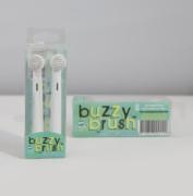 Náhradní hlavice pro elektrický zubní kartáček BUZZY BRUSH - 2 ks v balení Jack N´Jill