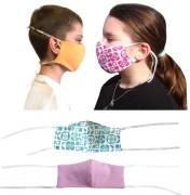 Látková respirační rouška - maska pro děti od 3 do 6 let