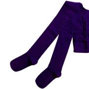 Dětské punčocháče Design Socks vel. 3 (2-3 roky) FIALOVÉ