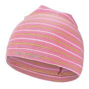Čepice smyk natahovací Outlast ® - pruh stř.růžový úzký