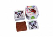 Pexeso Zvířátka 64 ks karet