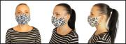 Látková respirační rouška - maska pro dospělé dámská