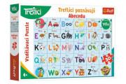Puzzle Treflíci poznávají Abecedu 30 dílků