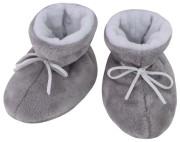 Kojenecké botičky Minky Teddy bílá