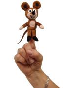 Prstový maňásek Myška 8 cm