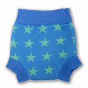 Plavky Happy Nappy - hvězda modrá