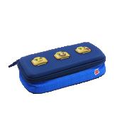 Lego Faces Blue - pouzdro 3D
