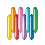 Balónek nafukovací válec, délka 65 cm, 10 ks v balení