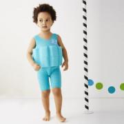 Dětský plováček Short John - zelenomodrá