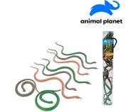 Zvířátka v tubě - hadi, 8 ks mobilní aplikace pro zobrazení zvířátek