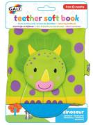 Dětská knížka s kousátkem - dinosauři